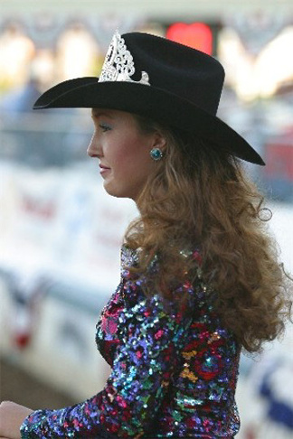 People At Work Rodeo Queen